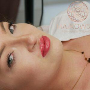 Makijaż permanentny ust po rozszczepie